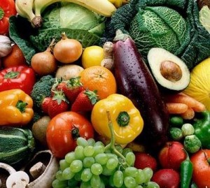 alkaline diet foods - fruits and vegetables